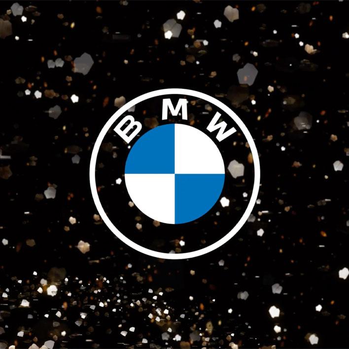 Le nouveau logo de BMW