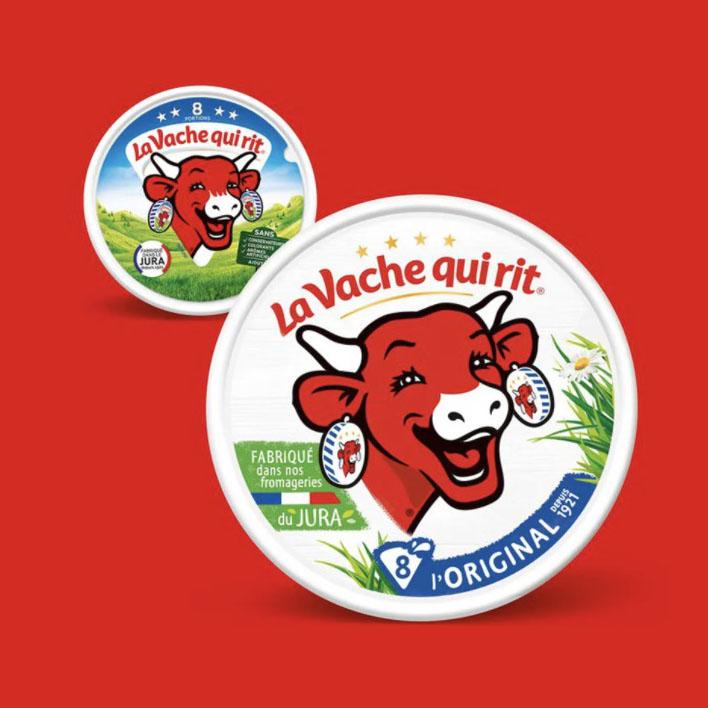 Nouvelle identité de la Vache qui rit