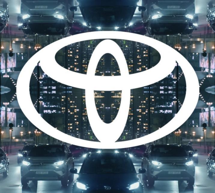 Nouveau logo Toyota