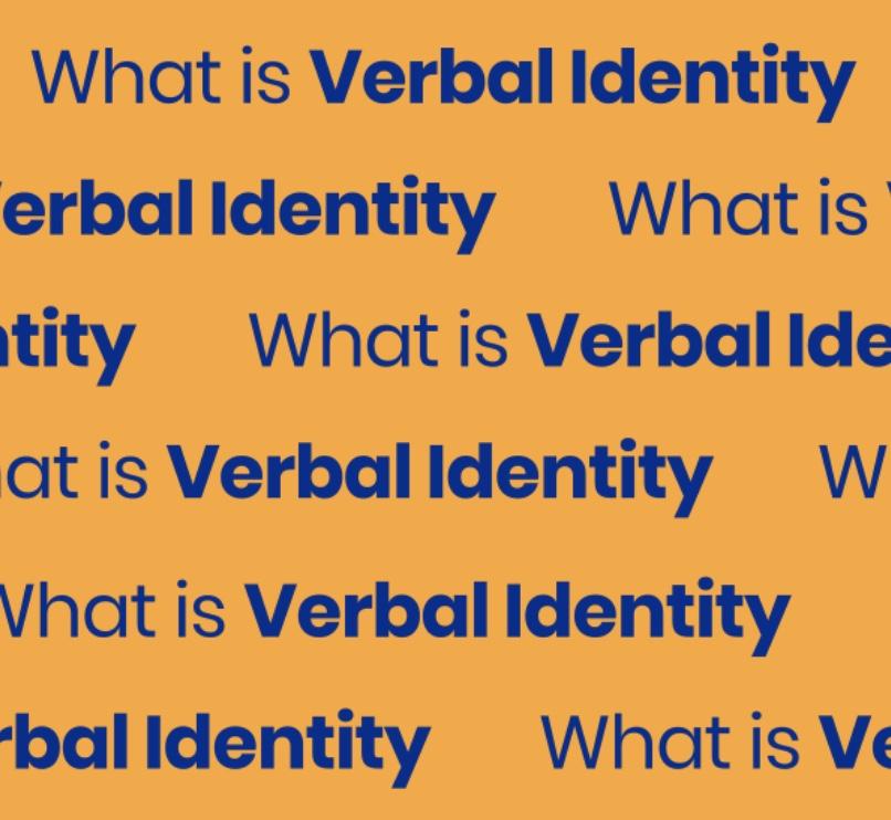 Identité verbale