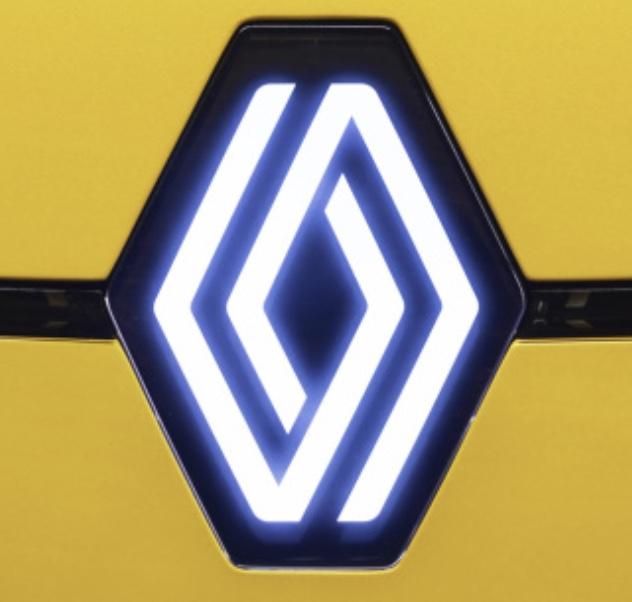 Renault nouveau logo